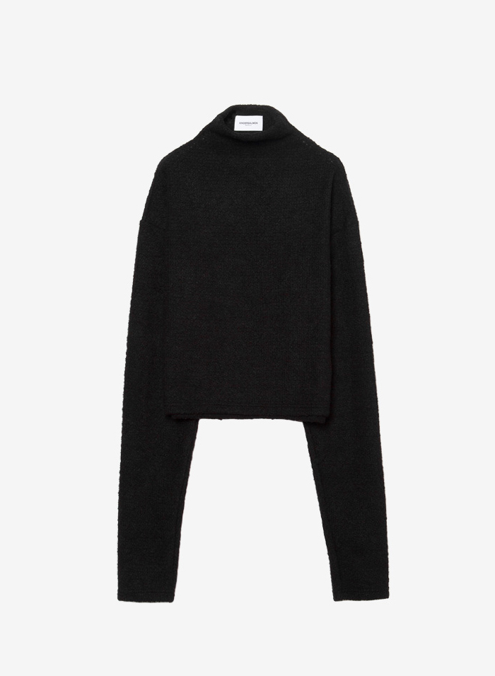 FW16 HIGHNECK PULLOVER BLACK