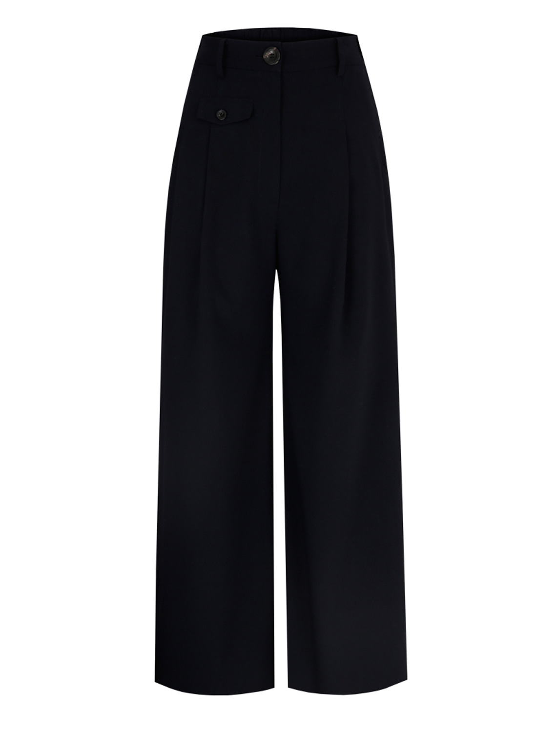 SS18 WIDE PANTS NAVY