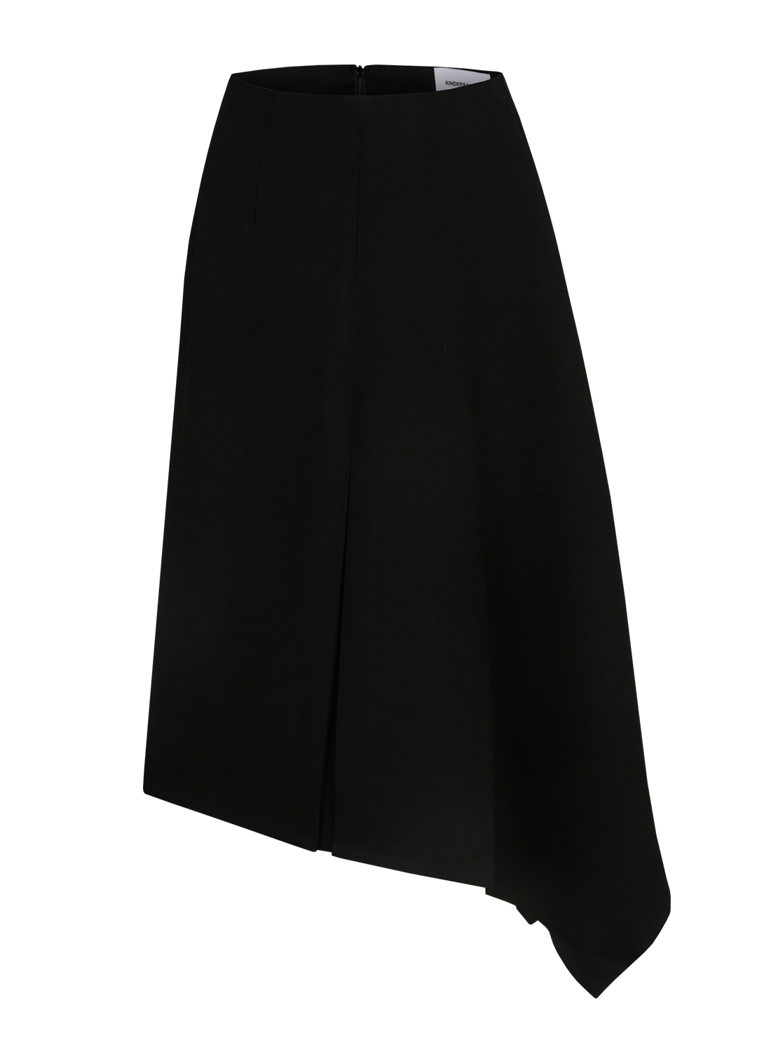 FW17 ASYMMETRY SKIRT BLACK