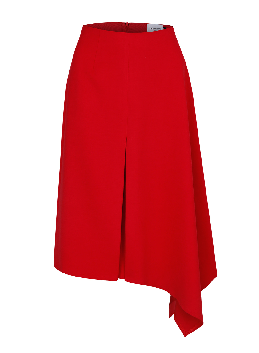 FW17 ASYMMETRY SKIRT RED
