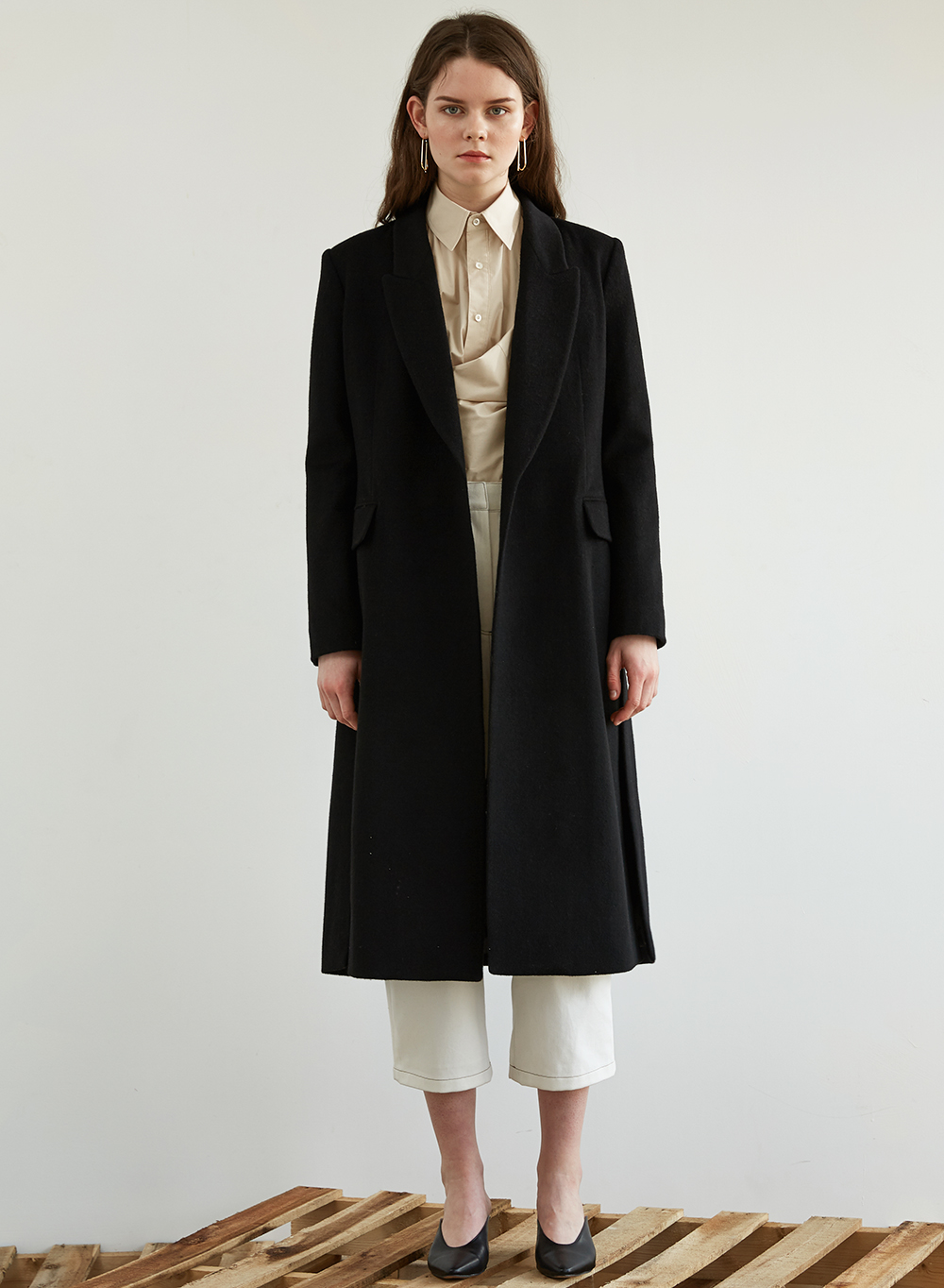 FW18 HIDDEN SINGLE COAT BLACK