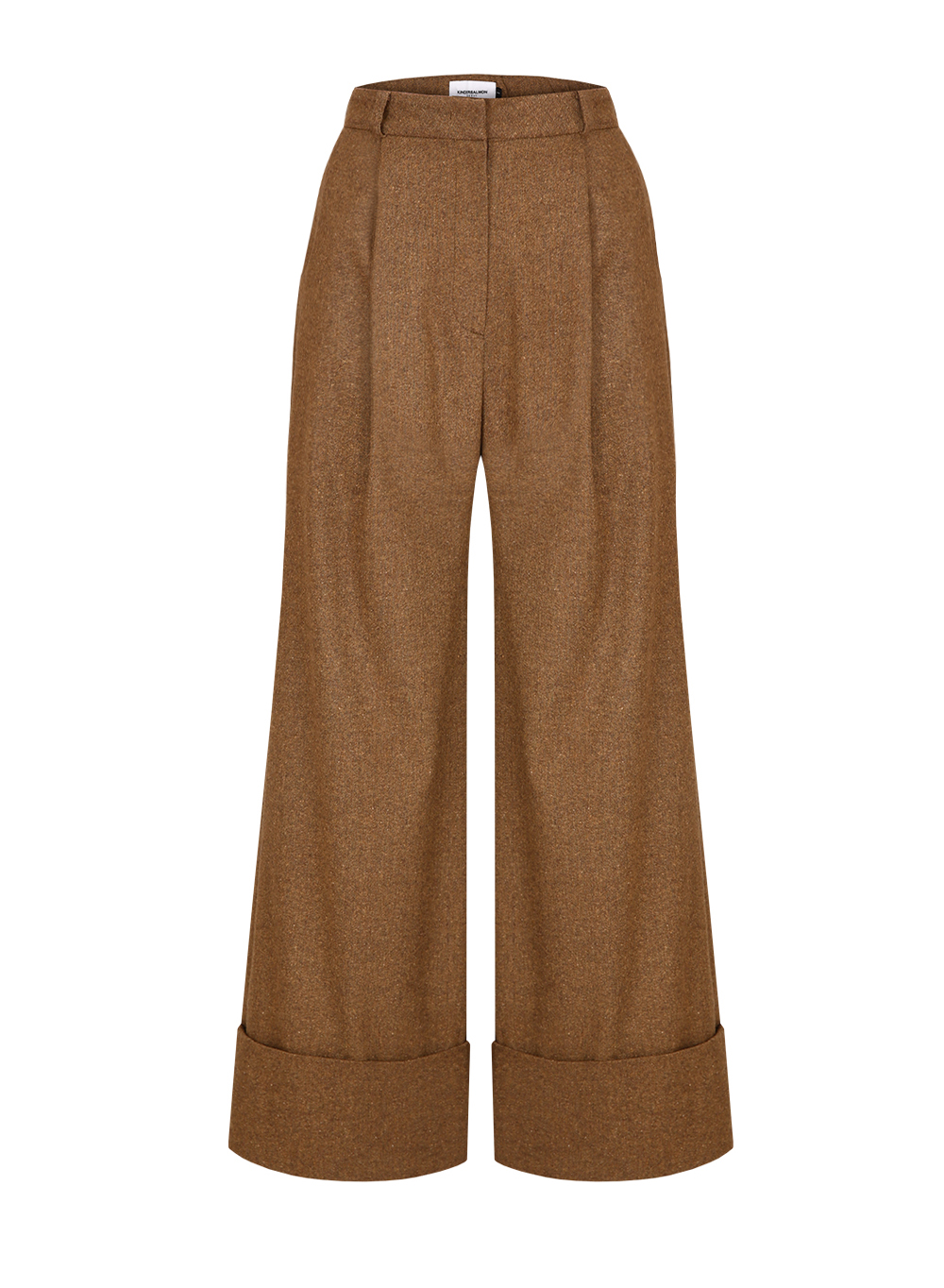FW18 WIDE PANTS KHAKI