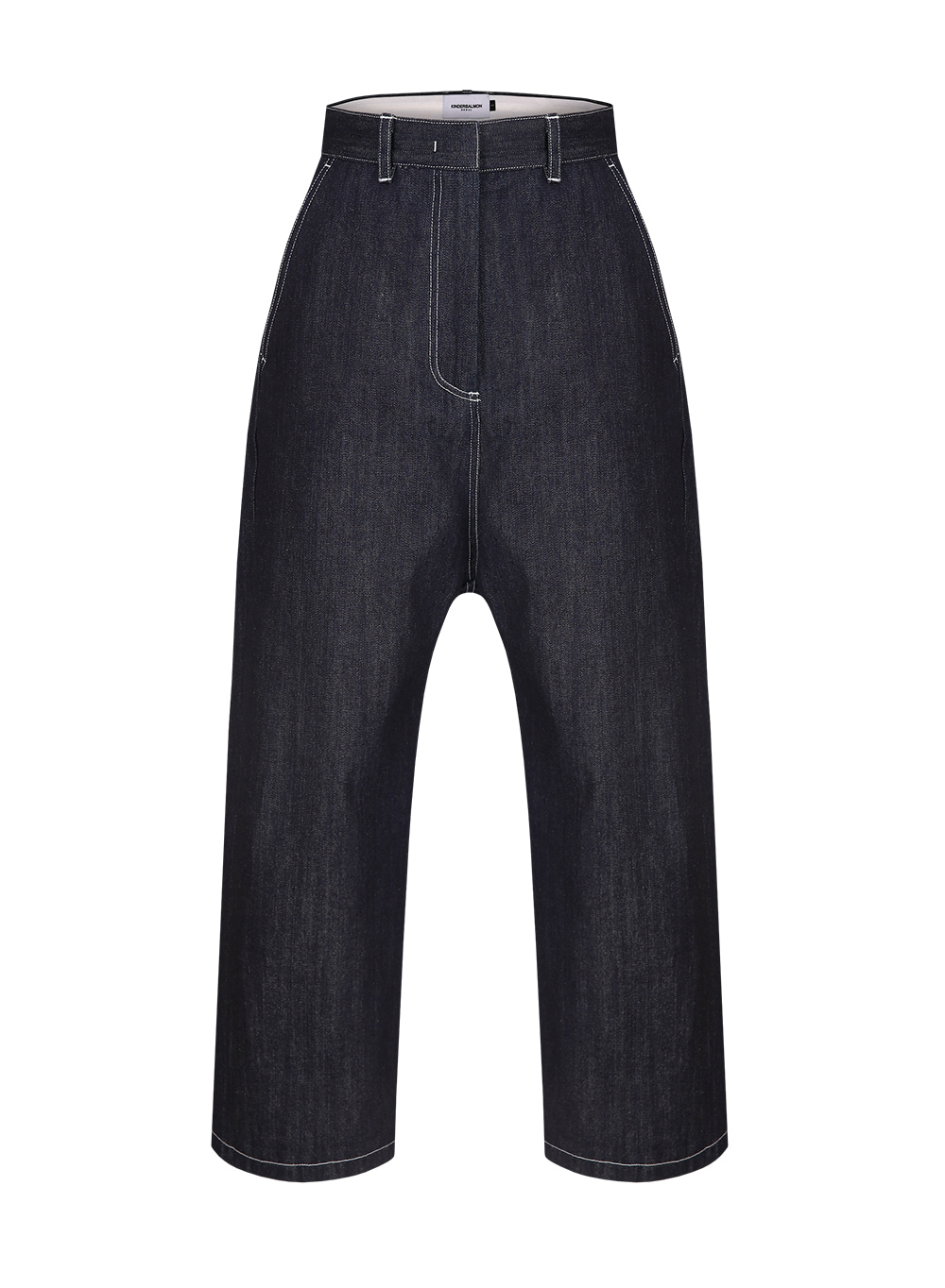 FW18 COCOON PANTS DENIM NAVY