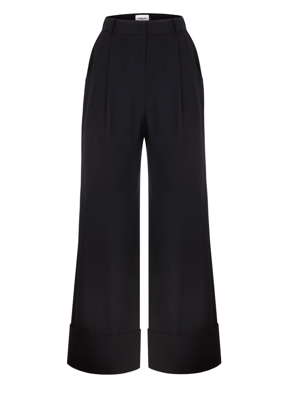 FW18 WIDE PANTS DARKNAVY