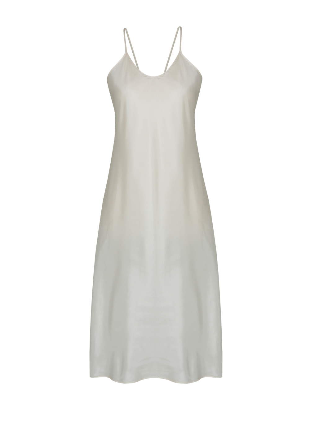 [ESSENTIAL] Camisole Dress Cream (비침방지)