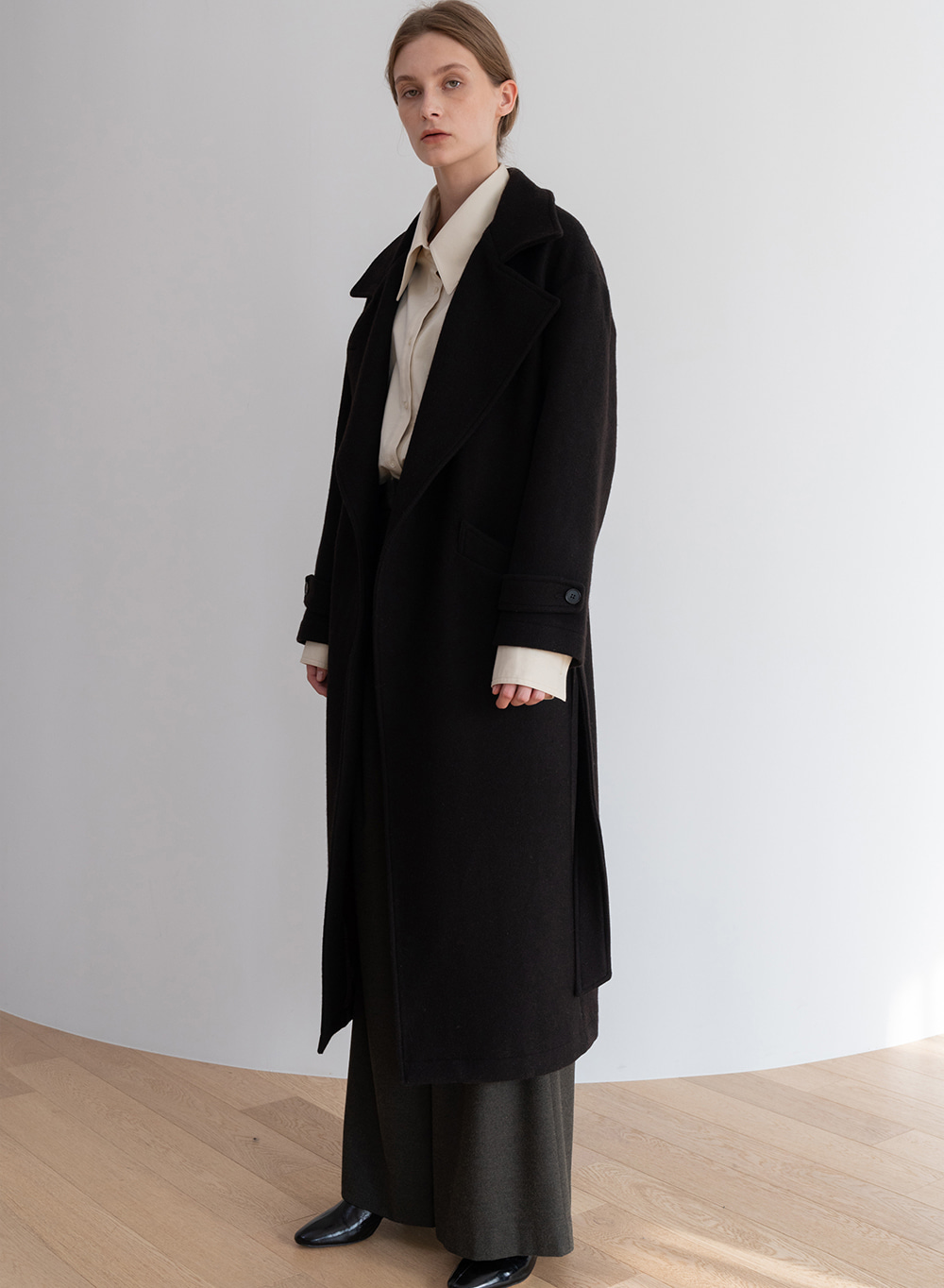 [ESSENTIAL] 카르멘 Carmen Coat Dark-Brown