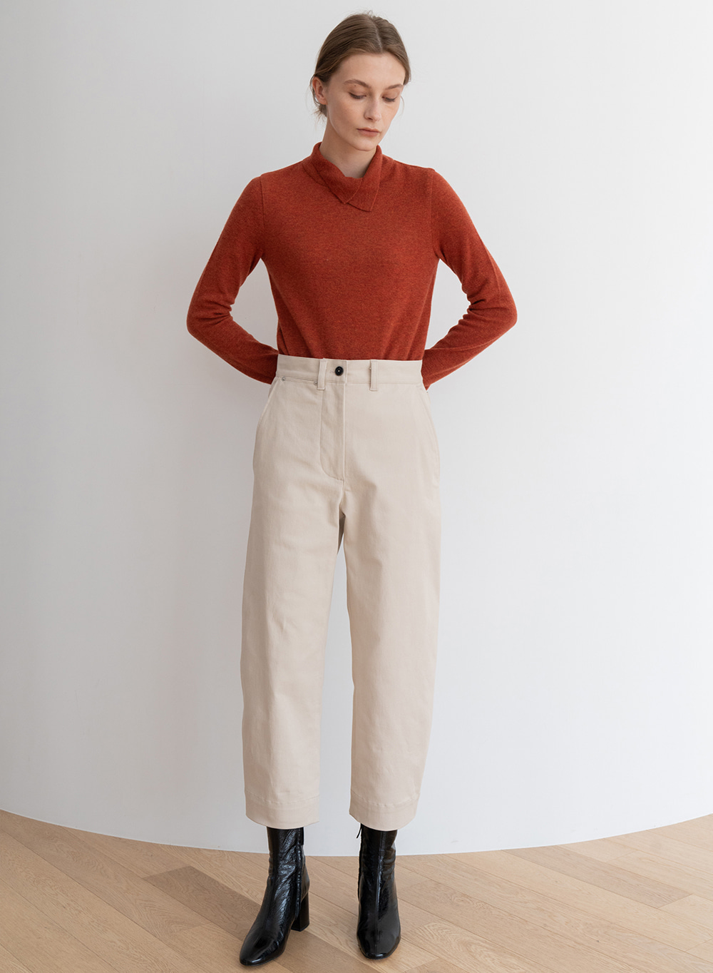 [ESSENTIAL] Chelsea Pants Cream